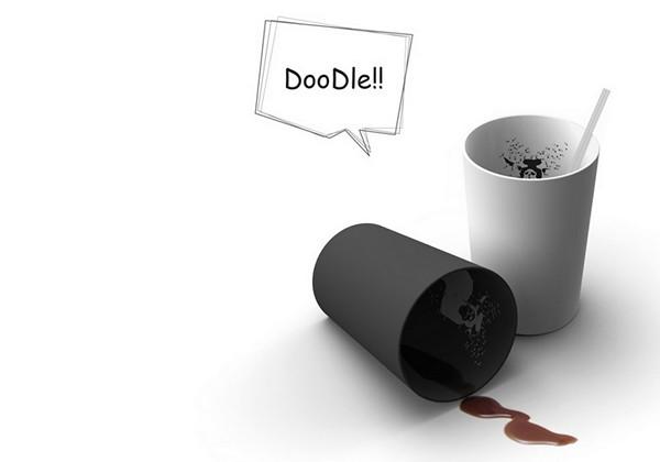 Кружка Doodle Cup с картинкой-ребусом