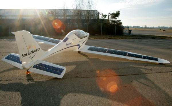 New Elektra One – солнечный самолет