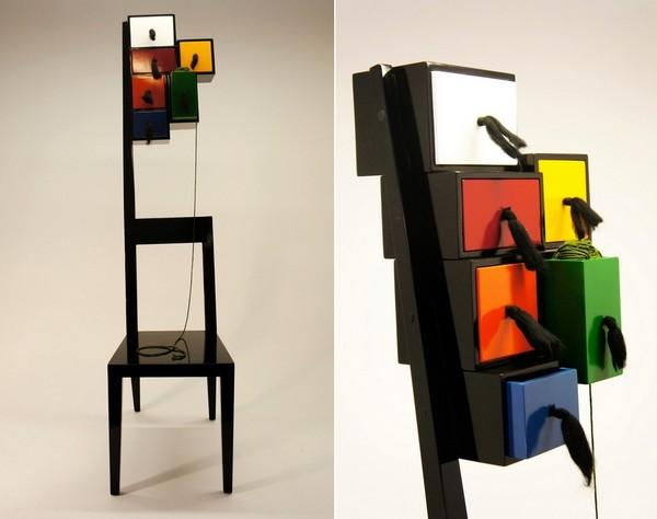 Grandma Chair, необычный стул для бабушки от Bora Cakilkaya