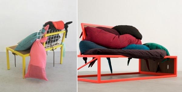 Серия нестандартной дизайнерской мебели Mugrosa
