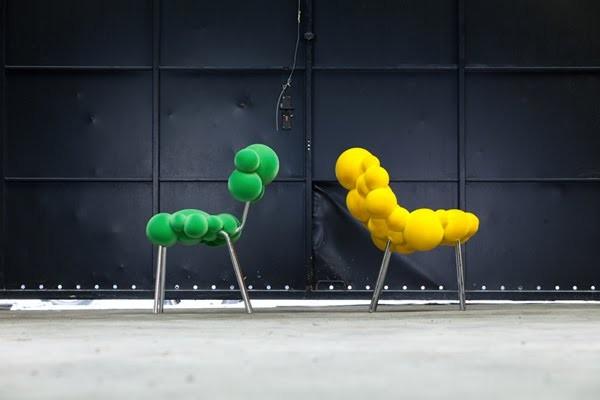 Мебель Mutation Series, словно созданная клонированием