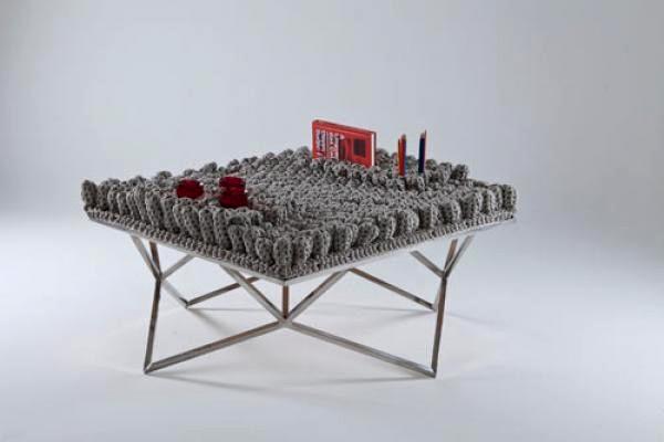 Фрактальная мебель от Николь Томази (Nicole Tomazi)