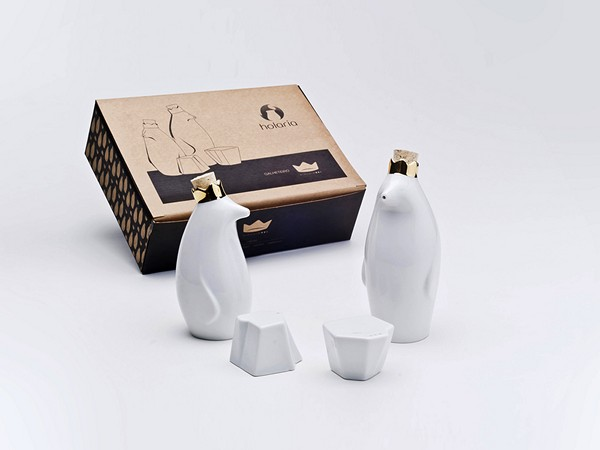 Айсберги и пингвины. Посуда Pinguim Rei от Holaria