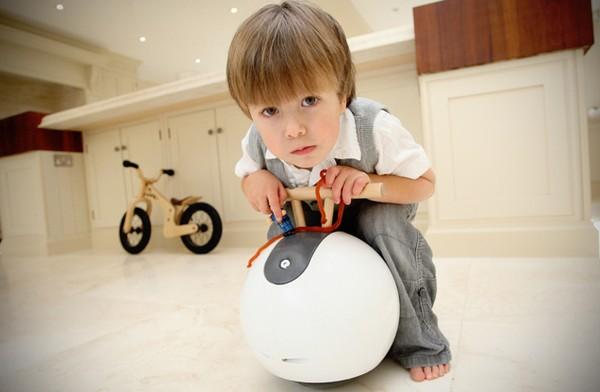 Spherovelo, самый безопасный велосипед для дошкольников