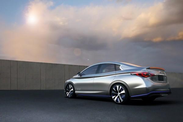 Infiniti LE – электромобиль с беспроводной зарядкой