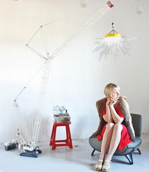Crane Light, светильник в виде подъемного крана