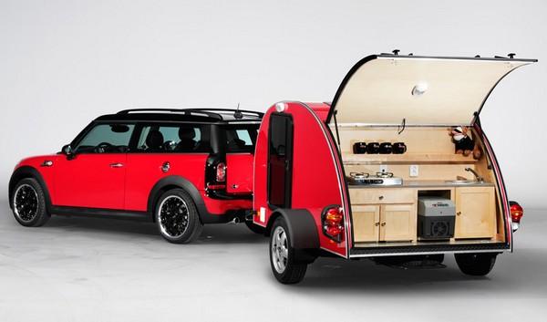 MINI Camper + Caravan – вариант для путешествий