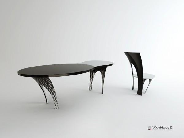 Rajtuzy, комплект концептуальной мебели от компании WamHouse