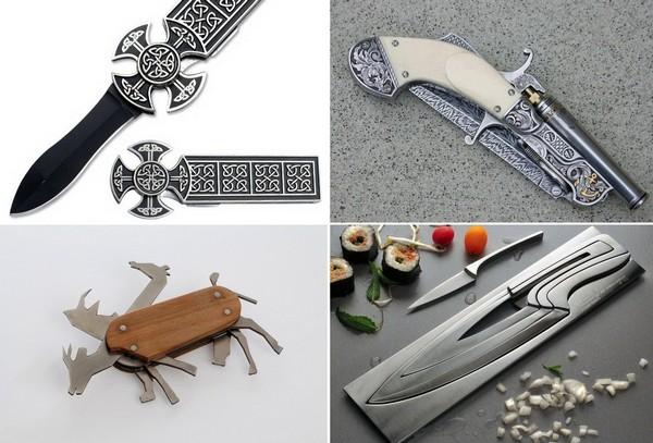 Самые необычные ножи в мире