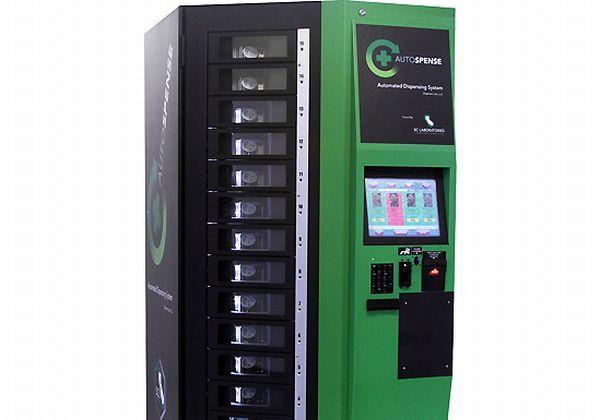 Autospense – торговый автомат для продажи марихуаны