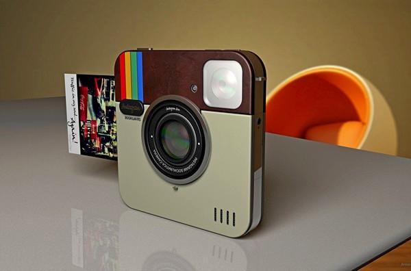 Instagram Socialmatic Camera: от приложения к гаджету. Polaroid нового поколения