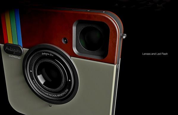 Имитация сервиса Instagram в концептуальной фотокамере