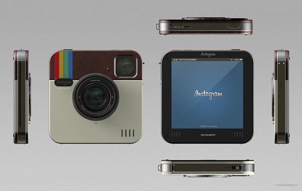Instagram Socialmatic Camera: Polaroid нового поколения