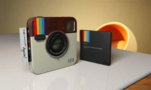 Концепт Instagram Socialmatic Camera: от приложения к гаджету