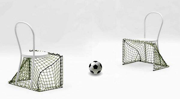 В преддверии Евро-2012. Lazy Football Chair, или стул для ленивых футболистов
