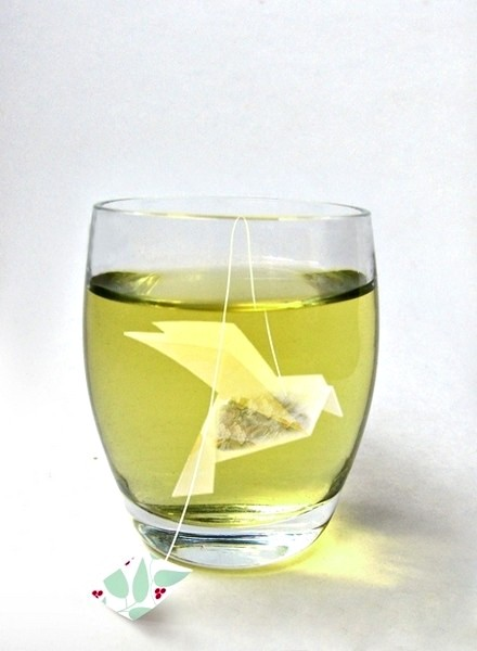 Пакетик-оригами для чая Green Berry Tea