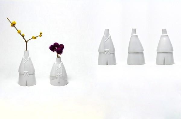 Оригинальные вазы Tonohime из фарфора