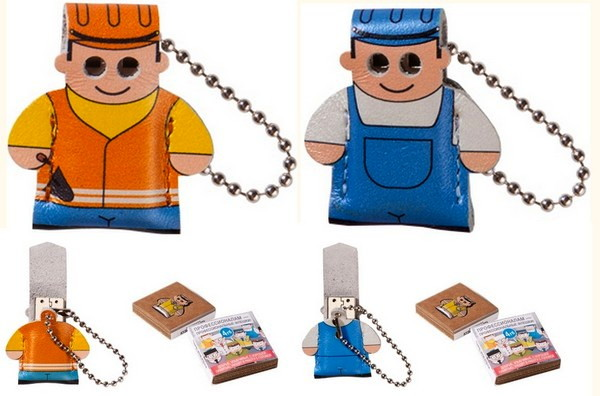 Рабочий и строитель.USB-флешки из серии Professional