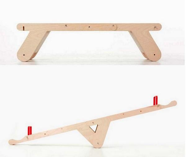 SeasawSeat, скамейка-качели от голландских дизайнеров