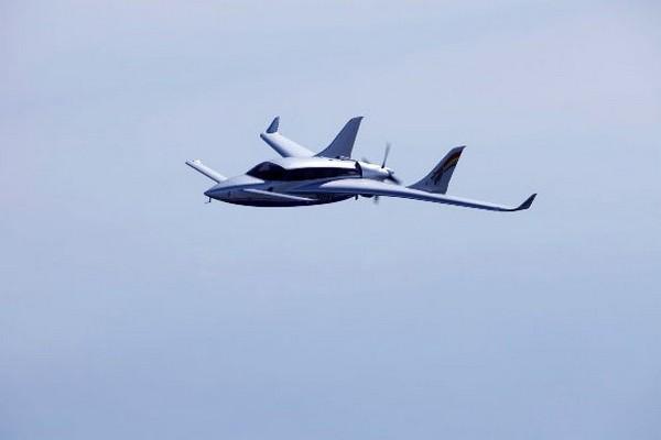 Volta Volare GT4 – электрический самолет с топливным двигателем