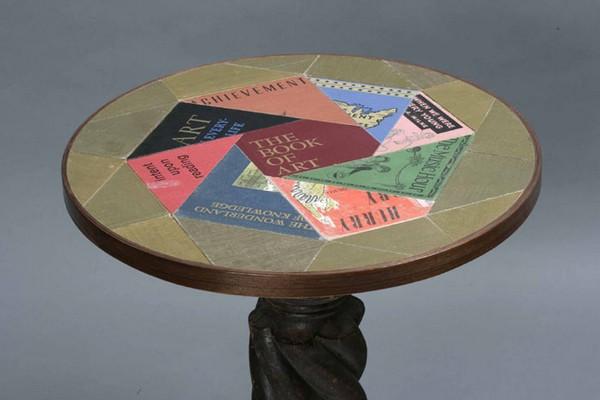 Second Editions. Мебель от Jim Rosenau, сделанная из книг