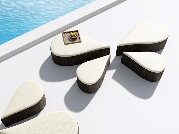 Восточные мотивы. Современная мебель Fiore от B-alance