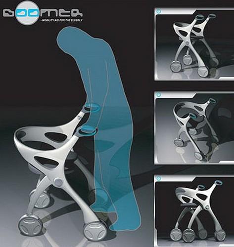 Boomer mobility assist – тележка-внедорожник