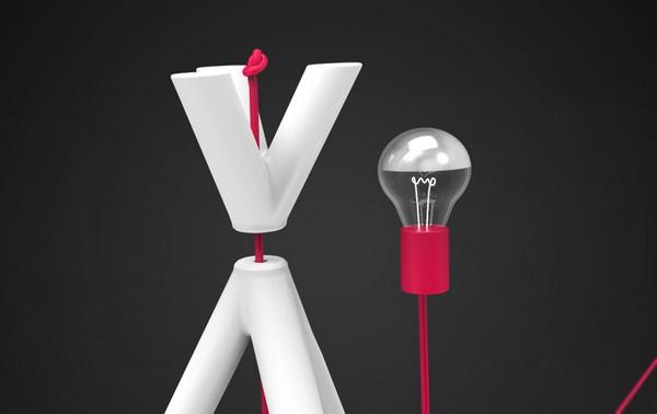 Светильник-костер Lamp Fire от студии Creative Session