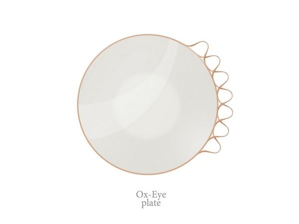 Многоразовая тарелка Ox-Eye Plate, концепт Катерины Семенько