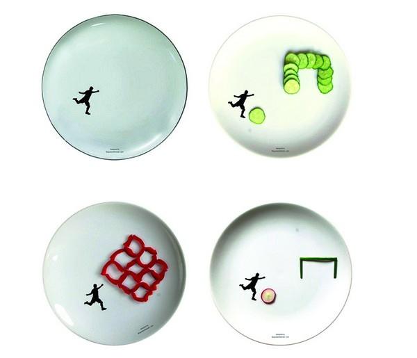 Спортивные тарелки Sport Plates к началу Евро-2012