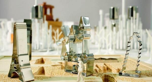 City Cookies. Европейские достопримечательности в виде формочек для печенья