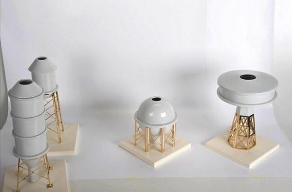 Industry Porcelain Vases. Индустриальные вазы из фарфора