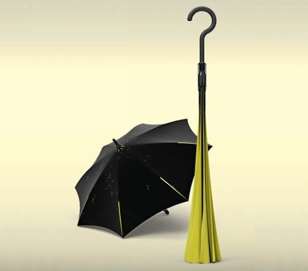 Inverted Umbrella, зонт, который нужно вывернуть наизнанку