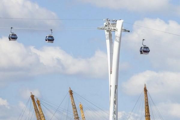 Emirate Air Line — первая канатная дорога в Лондоне