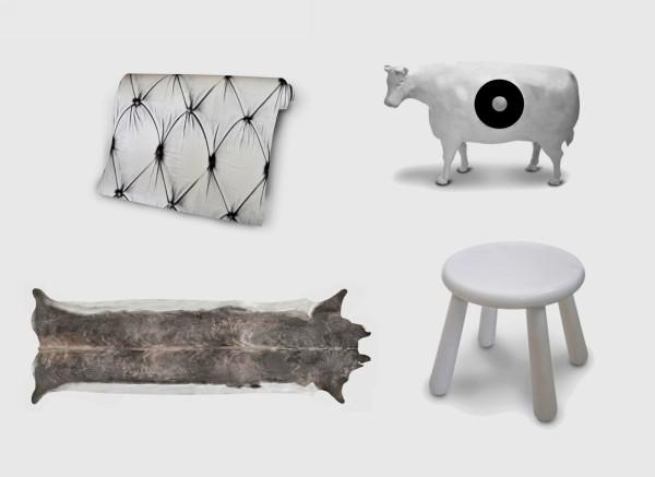 Milky Collection, дизайн, посвященный корове