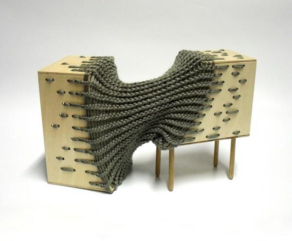 Гибридная мебель Каты Монус (Kata Monus), сотканная в одно целое