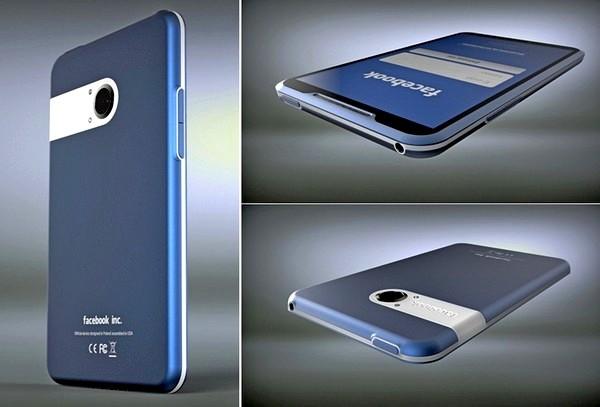 Facebook Phone, телефон для социальной сети от Михала Бониковского (Michal Bonikowski)
