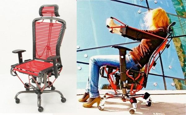 Офисное кресло-тренажер GymyGym