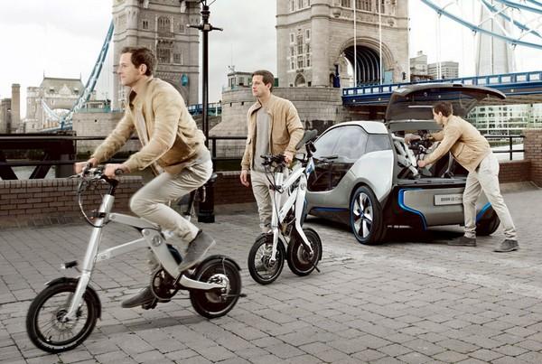 BMW i Pedelec – электробайк с педалями