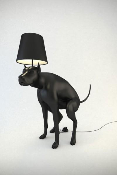Какающие собаки, большая и маленькая. Светильники от Whatshisname