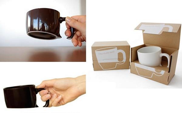 Кружка Treasure Mug, затонувшая в столе
