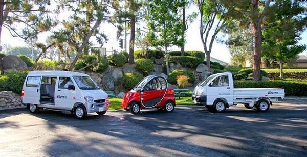 Eco-E, EcoVan и EcoTruck — самые дешевые в мире электромобили