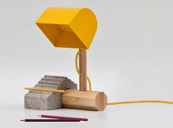 Почти игрушечная лампа CONST от Thinkk Studio
