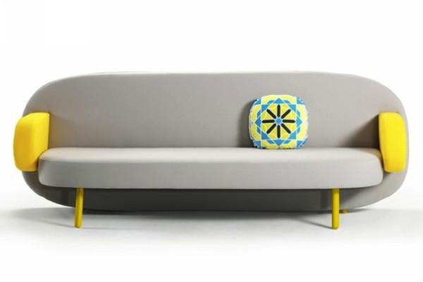 Яркие модные диваны от Карима Рашида, серия Float Sofa