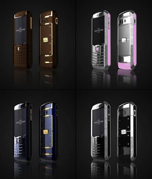 GoldVish Equilibrium. Эксклюзивный телефон класса *люкс* с двумя SIM-картами