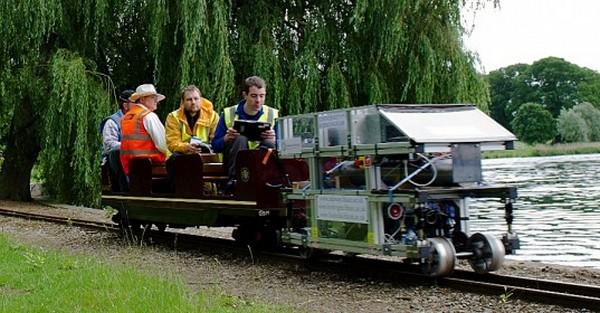 Первый водородный локомотив в Великобритании