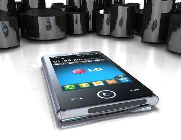 Концепт планшетосмартфона LG Triptych от дизайнера Эдварда Хейла (Edward Hale)