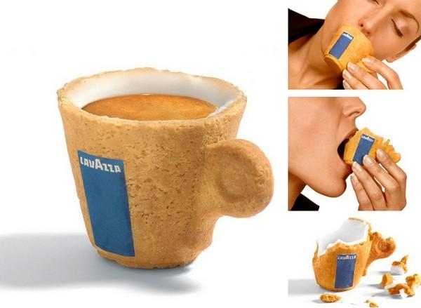 Чашка-печенье Cookie Cup от дизайнера Enrique Luis Sardi