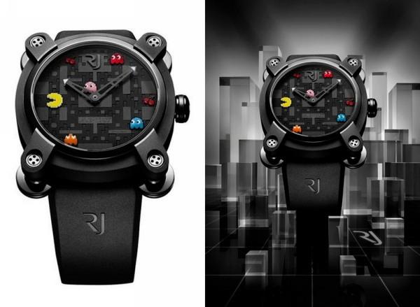 Наручные часы Pac-Man с ностальгическим дизайном