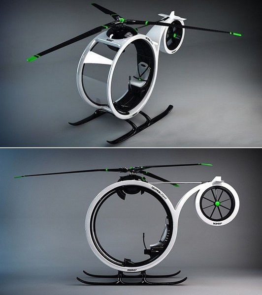 Zero Helicopter, транспорт, минующий пробки